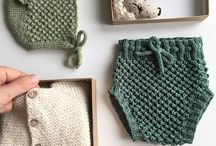 Pretty knitted things