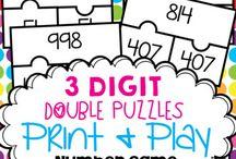 3 Digit Number Activities