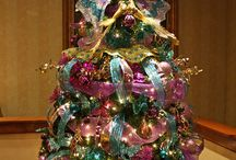 Butterfly Christmas tree / Butterfly themed Christmas tree ideas