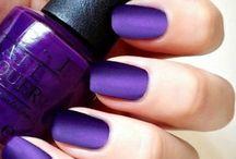 C. Purple