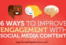 Social Media / #engaging in #social #media