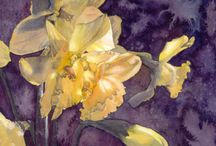 ART:  Watercolors / Appreciating watercolor artwork  / by Ann Nelson