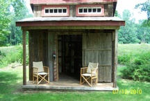 Storage shed .......art studio / by Debbie Metzger