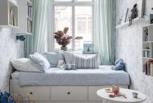 Narrow child room