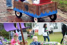 Wagon float