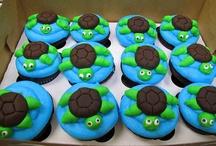 Birthday cake - undersea