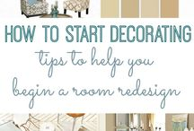 Decorating tips and tricks / by Cristie Wojciaczyk
