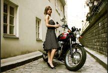 Old & new motorcycles / by Linda Jones