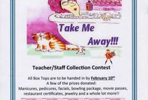 BOX TOPS-Jenny The Penguin's Tips / Jenny the penguins top picks for Box Top ideas and awesomeness! #boxtops Pin your favorite!