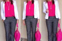 rosa blusa