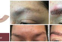 Permanente make-up / Pmu wenkbrauwen 3D techniek Hairstroke. Schoonheidssalon AltijdMooi fazantenkamp 900, 3607 EE Maarssen  altijdmooi@live.nl www.altijdmooi.com 06-28565651