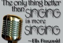 sing, music, lyrics, quotes & stuff / by Carrie Gomar