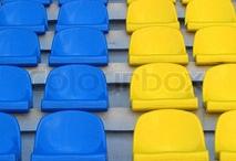 BLUE & yellow...