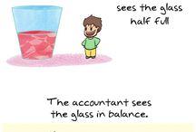 Making fun (of) accountants
