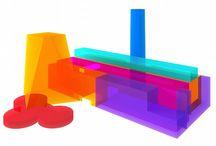 arte 3d materiales