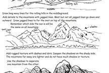 grafika krajobraz