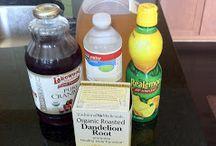 Detox drinks and beverages