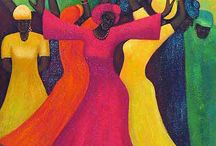 African art / Oils