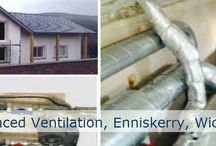 Solar Enhanced Ventilation Projects / Installations of the NuTech Renewables Ltd patented solar enhanced ventilation system across Ireland and Northern Ireland