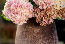 Zijde bloemstukken