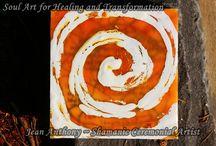 Shamanic Healing Art / Custom Artwork for Healing and Transformation.  Shamanic Healing Art