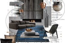 collage/interior design