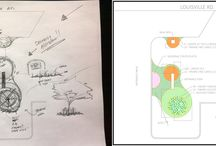 Before and After / Watch sketches turn into designs and designs turn into finished outdoor spaces.