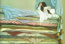 Illustrations ... Story ... Princess and the pea