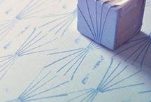 DIY - ideeën, stempels, zelf gemaakt