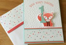 StampinUp / Foxy Friends