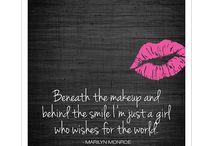 Marilyn  Monroe  ord og uttrykk