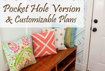 Pocket hole projects