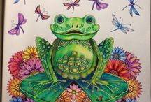 Johanna B. Enchanted Forest  / Frog /