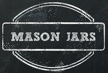 {mason jars}