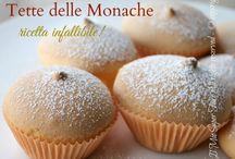 Tete delle monache / Bocconcini crema