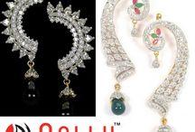 Designer Long Earrings Online in India / Buy Earrings Online at India's Best Online Shopping Store for Women. bit.ly/1VeSYEN