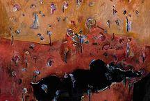 Painting Idols - Fred Williams