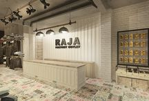 RAJA Factory Outlet / Retail Project in Pantai Indah Kapuk - Container Concept for industrial design