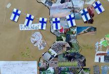 Finland 100 År pyssel