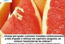 Aranja / Pomelo / Aquí trobaràs curiositats sobre l'aranja / Aquí encontrarás curiosidades sobre el pomelo