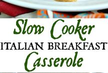 Slow Cooking / recipes for slow cooker