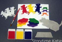 Flannel Board story ideas / by Jessica Gleadall