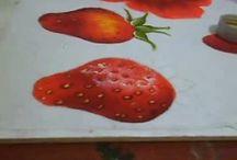 Aprender a pintar em tecido / vídeos a ensinar como pintar