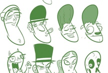 How to Draw Heads & Facial Features / How to draw facial features and full heads. Tutorials and guides