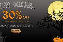 Promotion & Hot deals / All promotions, events, hot deals from JoomlaUX and others Joomla brand