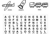 Sopa de letras-crucigramas-diferencias juegos