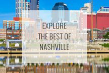 Nashville Attractions / The best things to do, see, and explore when traveling to Nashville, Tennessee! See them all: http://www.ruebarue.com/nashville