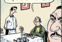 Waiter and Waitress Comics