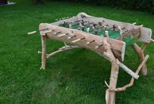 """My projects / This is my summer project """" Country Style Foosball Table"""""""
