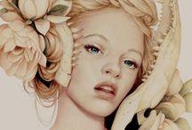 Jennifer Healy / Colored Pencils & Digital Art
